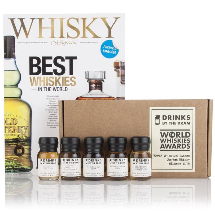 World Whiskies Awards 2018 Scotch Whisky Winners Tasting Set