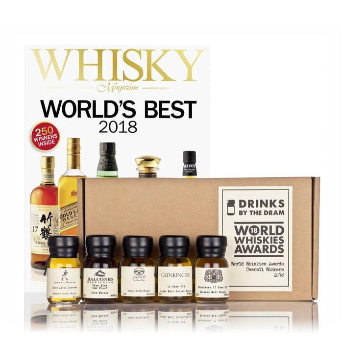 World Whiskies Awards 2018 Overall Winners Tasting Set