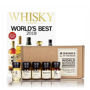 World Whiskies Awards 2018 Single Malt Whiskies Winners Tasting Set