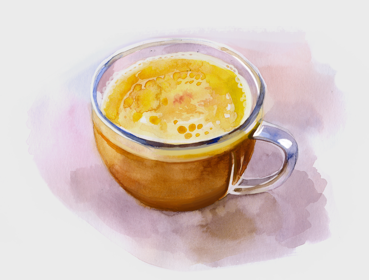 Golden milk (turmeric milk) - the ultimate winter drink