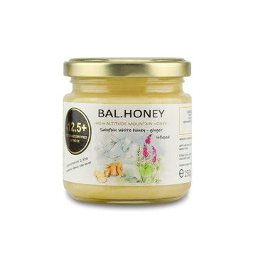 SAINFOIN ACTIVE 12.5+ WHITE HONEY – GINGER INFUSED 250G