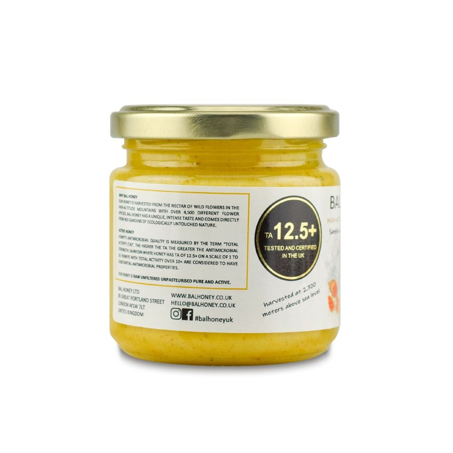SAINFOIN ACTIVE 12.5+ WHITE HONEY – TURMERIC INFUSED 250G