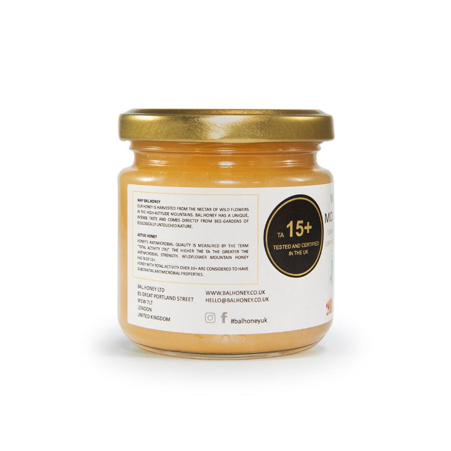 Wildflower Active 15+ Mountain Honey 250g