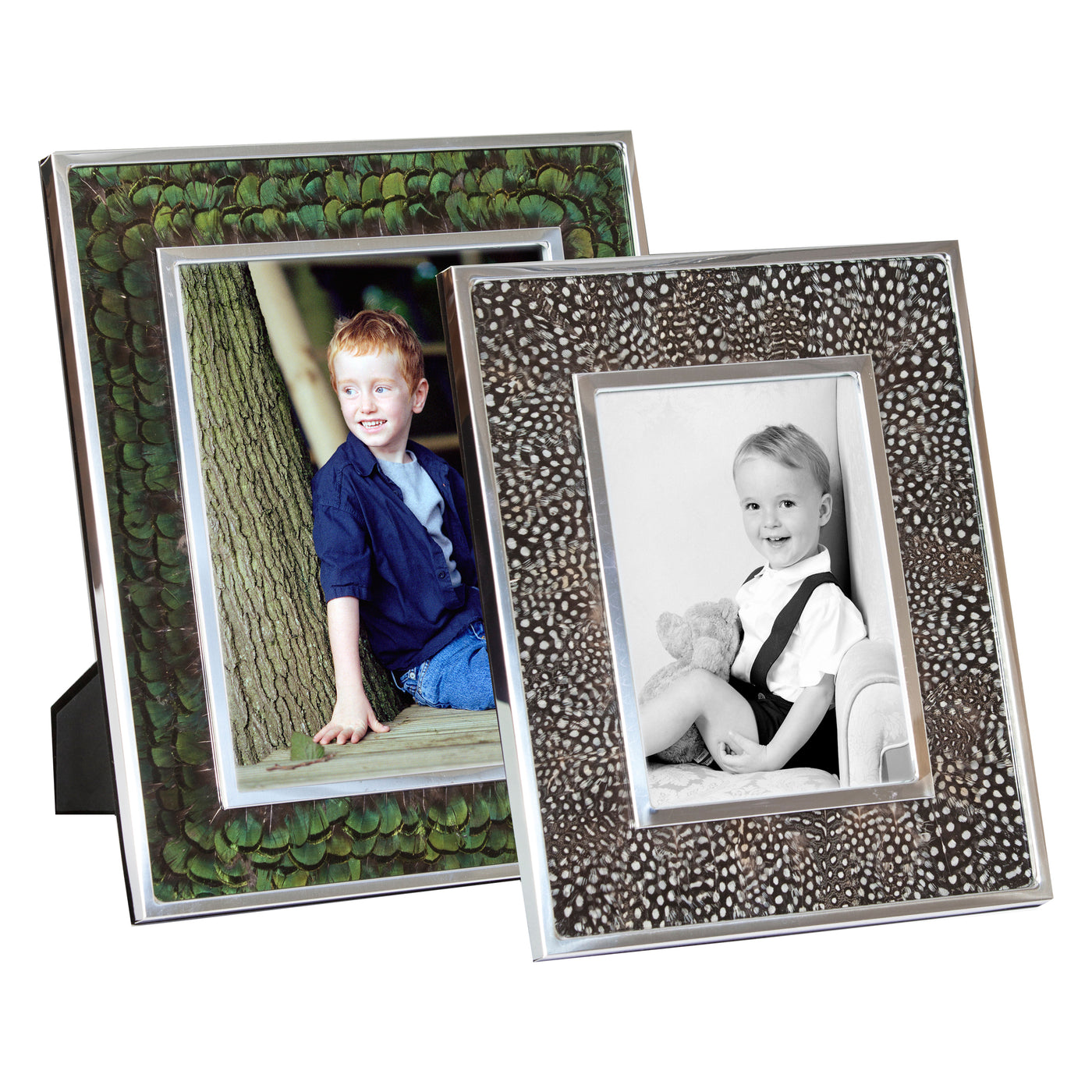 Feather Photo Frames