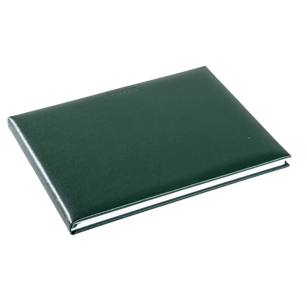 Green Tuscan Leather Visitors Book