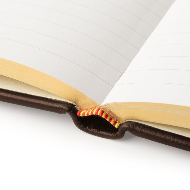 Coco Brown Luxury Leather Visitors Book