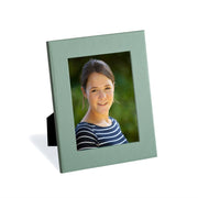 Lichen Green Luxury Leather Photo Frame