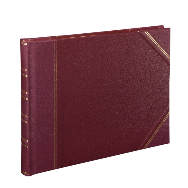 Burgundy Traditional Large Game Book
