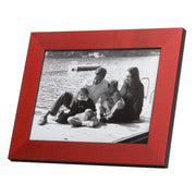 Red Coloured Wood Photo Frame