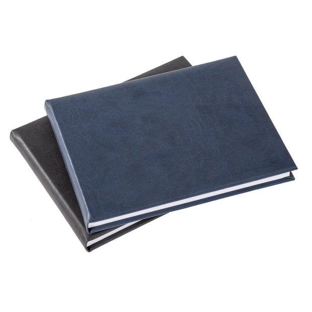 Charcoal Small Visitors Book ( Plain Front)
