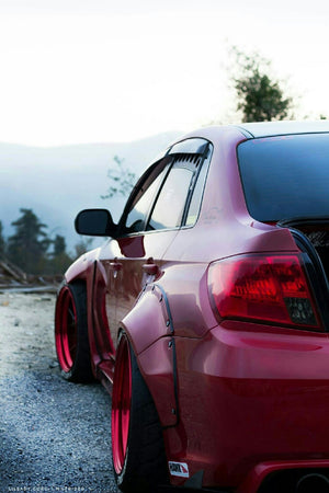 Replace Flares 2011-2014 Subaru WRX Sedan Wide Body kit