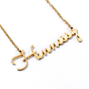 Personalized Custom Cursive Name Necklace