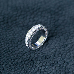 3 Layer Womens Diamond Ring
