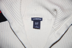 Gap Zip up Turtle Neck
