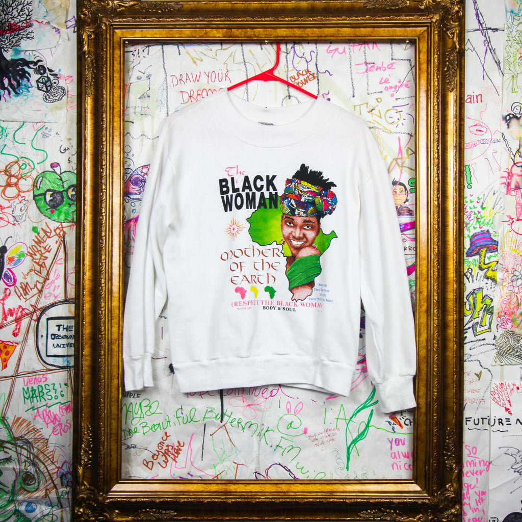 Vintage Black Woman Sweatshirt