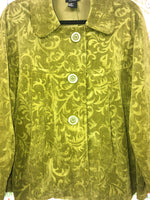 RQT Woman Green Peacoat