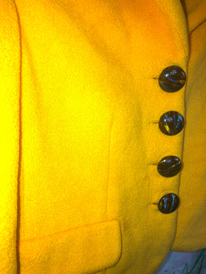 Express Yellow Suit Jacket