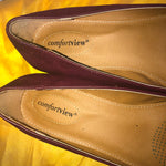 Comfort View Maroon Loafers