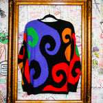 Coogy Hand painted Sweater