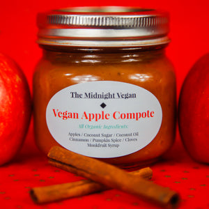 Vegan Apple Compote