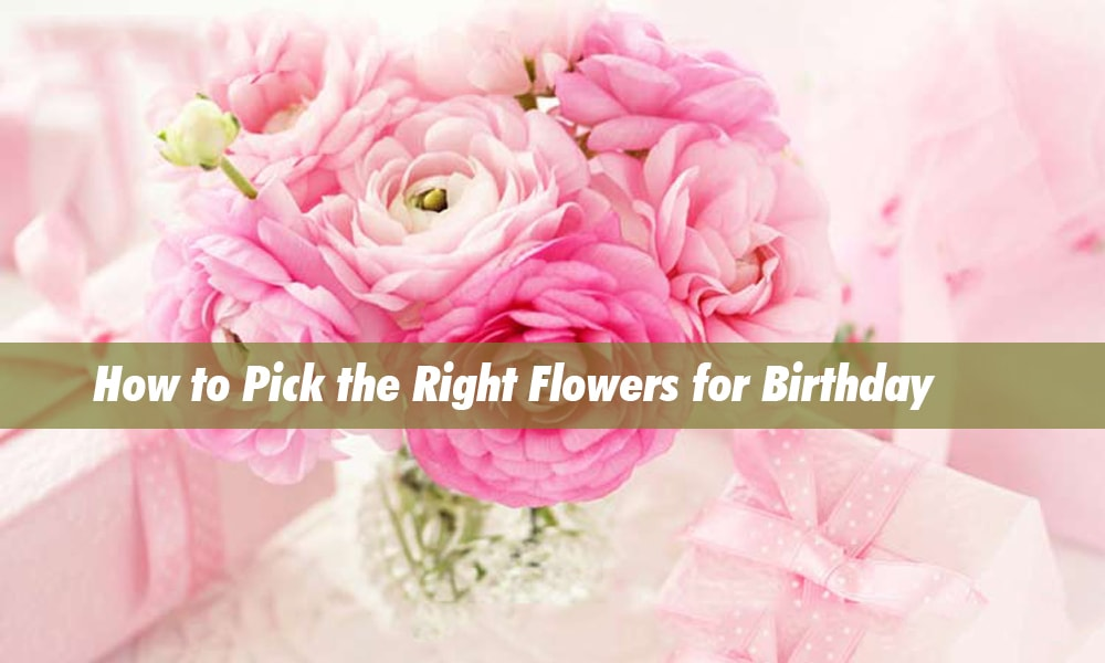 How to Pick the Right Flowers for Birthday