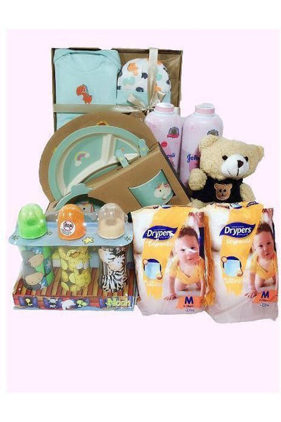 BG 05 - Newborn Essentials Bundle A - Floral Singapore