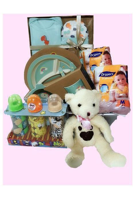 BG 06 - Newborn Essentials Bundle B - Floral Singapore