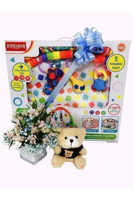 BG 08 - Fit as a fiddle baby bundle - Floral Singapore