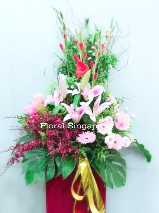 GO 13 - Felicitations - Floral Singapore