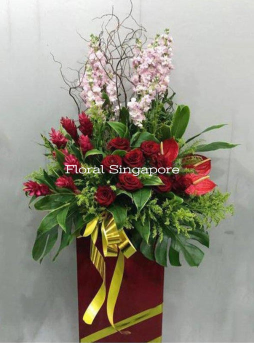 GO 20 - Rising Prosperity - Floral Singapore