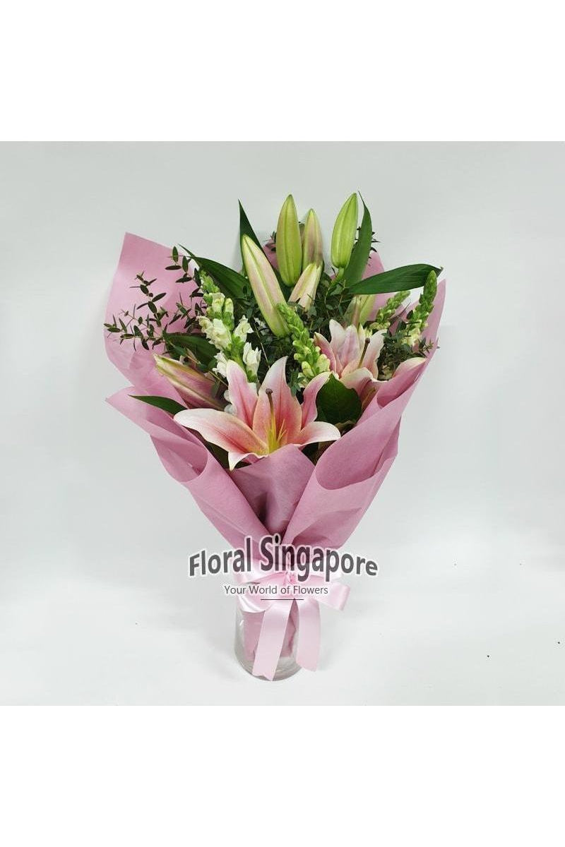 WA 04 - Happy Life - Floral Singapore