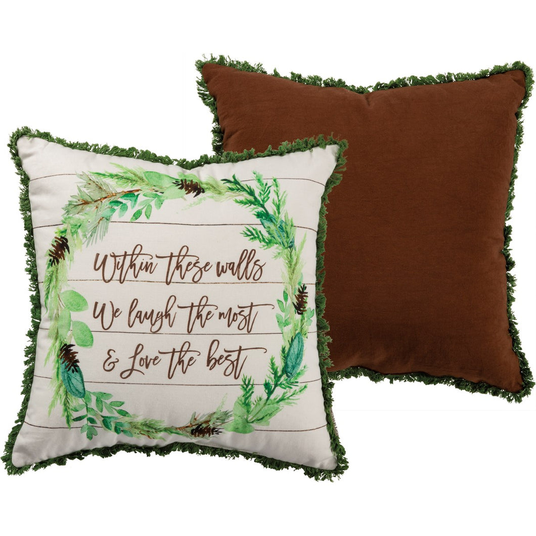 Within These Walls Pillow