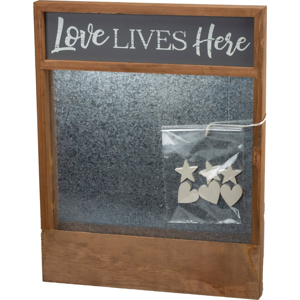 Love Lives Here Memo Board