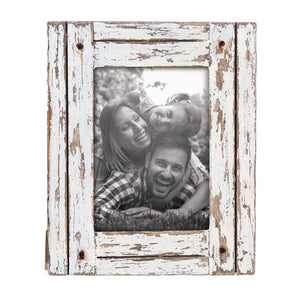 5 x 7 Distressed Wood Picture Frame
