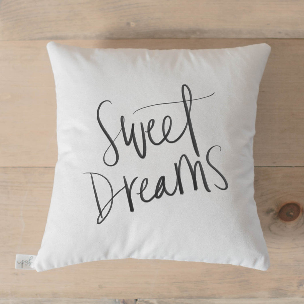 Sweet Dreams Pillow