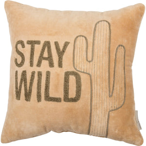 Stay Wild Pillow