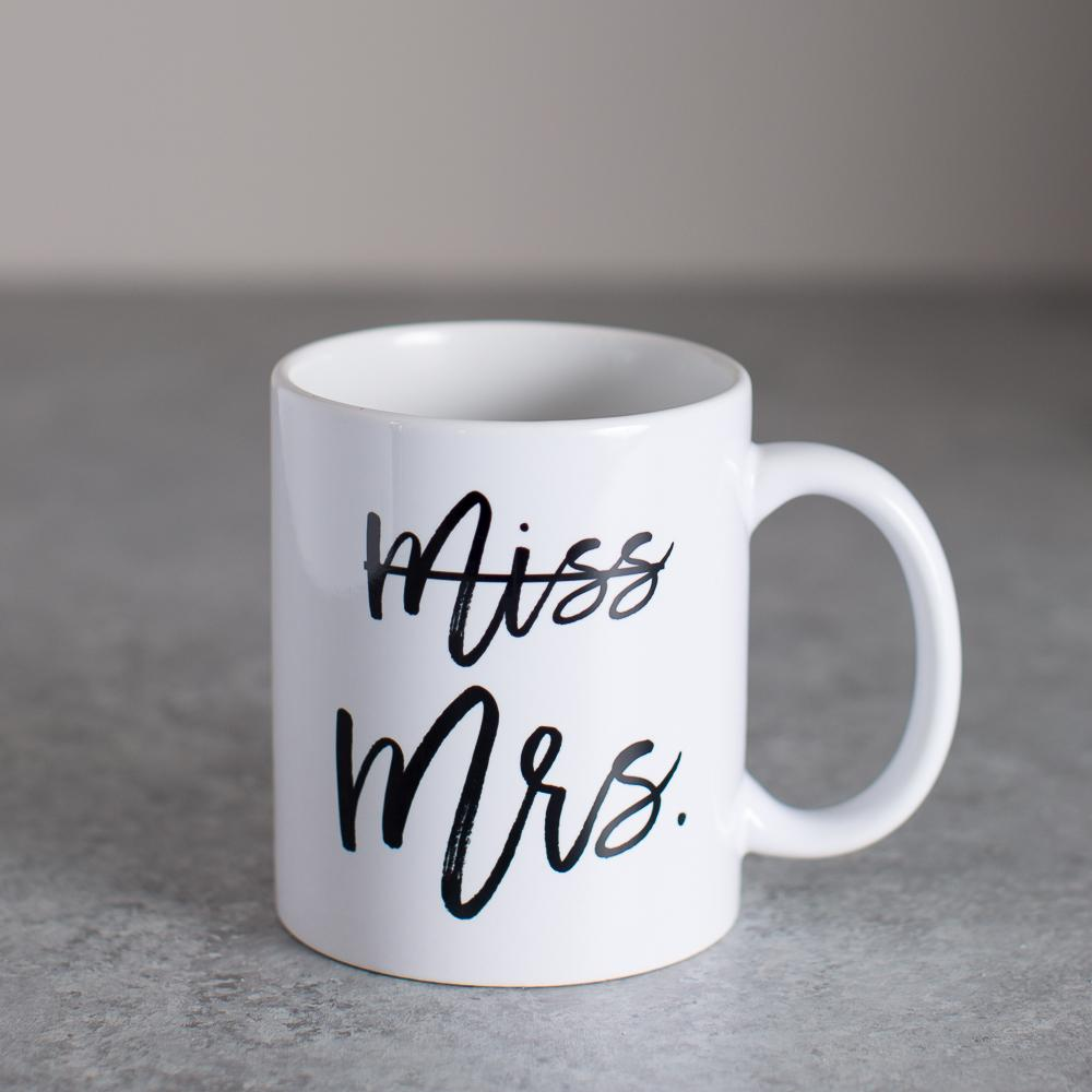 Miss to Mrs. Coffee Mug