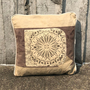 Sunburst Canvas Pillow