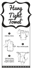 Load image into Gallery viewer, I Love Jesus... But I Drink A Little HANG TIGHT TOWEL®