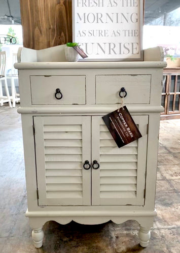 Abby Gray Accent Cabinet