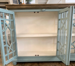 Livingston Beach Blue Large Cabinet
