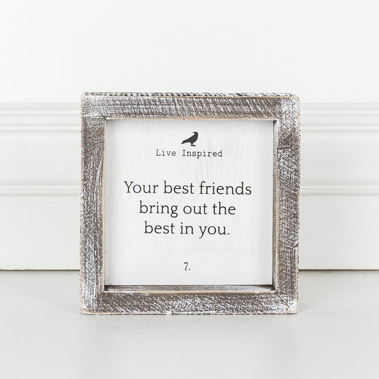 Your Best Friends... small sign