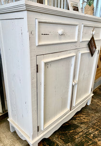 Astoria White Accent Cabinet