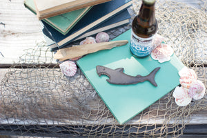Cast Iron Shark Bottle Opener