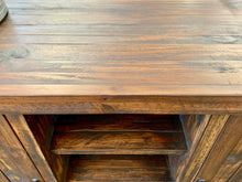 Load image into Gallery viewer, Tobacco Brown Farmhouse Buffet