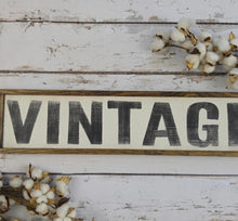Load image into Gallery viewer, Vintage Sign