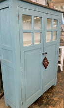 Load image into Gallery viewer, Parker Beach Blue Storage Cabinet