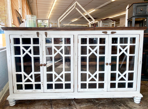 Livingston White Large Cabinet