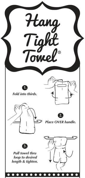 When In Doubt HANG TIGHT TOWEL®