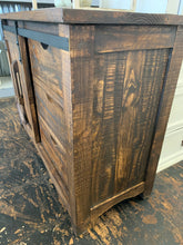 Load image into Gallery viewer, Baumann Tobacco Brown Barn Door Cabinet